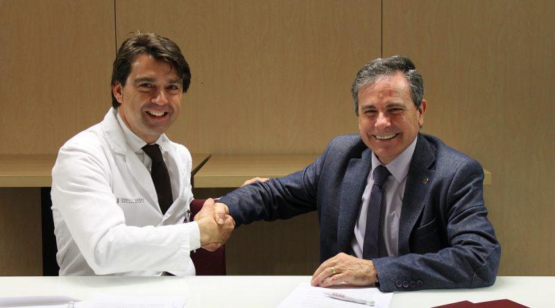 Los Hospitales de Torrevieja y Vinalopó firman un convenio de colaboración con la Asociación de Enfermería Comunitaria (AEC)
