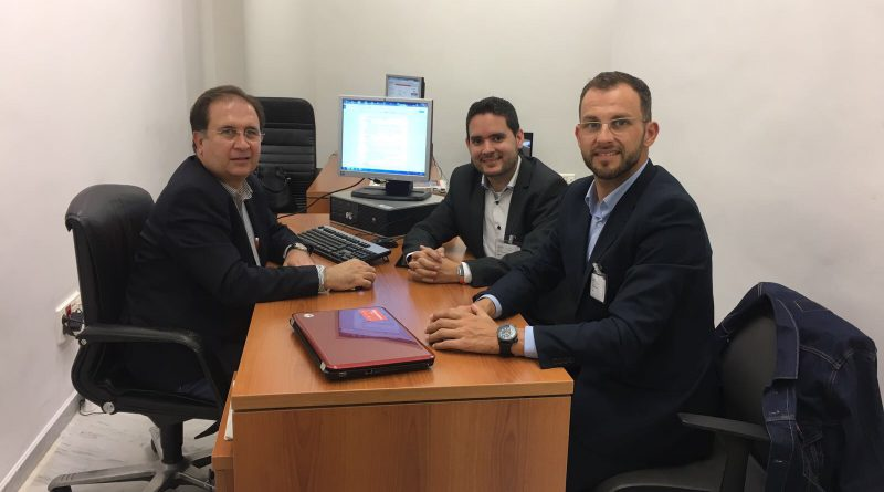Reunión C's Elche y Juan Córdoba